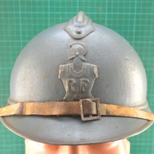 WW1 French 1915 Pattern French Engineers Casque De Adrian 1.8343