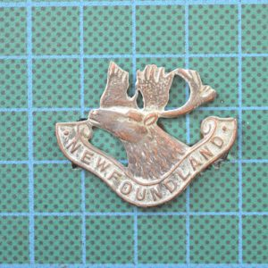 WW1 Canadian Newfoundland Regiment Cap Badge 1.8364