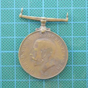 """WW1 British Commonwealth Chinese Labour Corps """"Coolies"""" Medal 1.8376"""