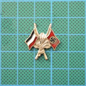 Imperial German & Nazi Flag Pin 2.12610