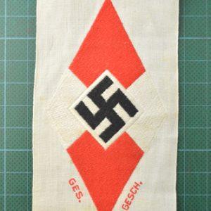 HJ Sports Vest Badge 2.12728