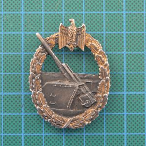 German Coastal Artillery Badge 2.13062
