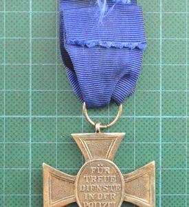German 18 Year Police Service Medal Circa 1938 2.13381