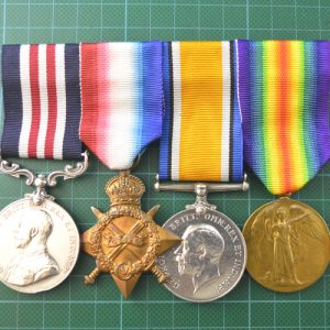 Military Medal Group to Pte H.Brown M.G.C 1.8298