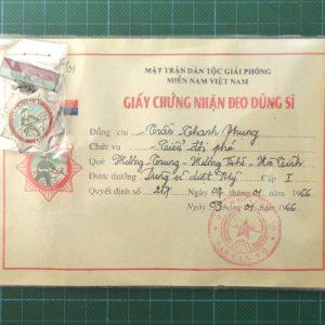 Vietnam War Era Vietcong American Killer Hero Medal 1st Class C.4950