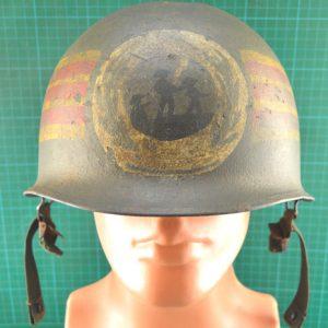 Vietnam War Era South Vietnam Home Defence Corps Helmet C.5229