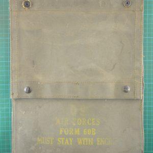 Vietnam Era B52 Bomber Engine Hours Form 60B Wallet C.5243