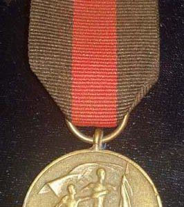 WW2 German Sudetenland Medal M.715