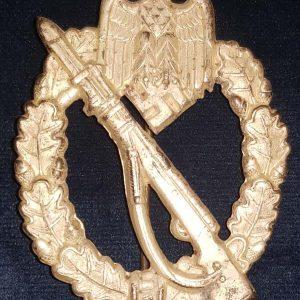 WW2 German Silver Class Infantry Assault Badge 2.14224