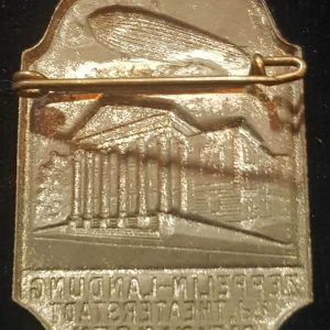 Pre WW2 Graf Zeppelin Commemorative Badge 2.14262