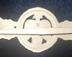 WW2 German Silver Luftwaffe Short Range Day Fighter Clasp 2.14288