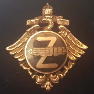 WW1 Imperial German Zeppelin Crew Badge 1.8463