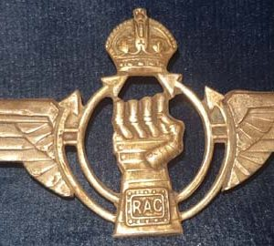 WW2 6th Airborne R.A.C Unofficial D-Day Cap Badge B.8426