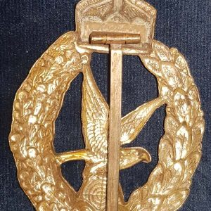 WW1 Imperial German Aircraft Machine Gunners Badge 1.8459