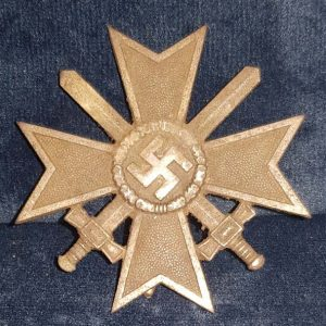 WW2 German Boxed War Merit Cross With Swords 1st Class 2.13149