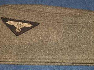 WW2 German Allgemeine SS-VT M34 Overseas Cap 2.14126