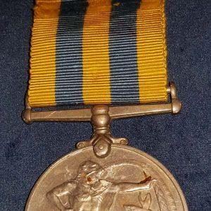 British Queens Korea Medal Named to W.J Cobbin Royal Signals M.712