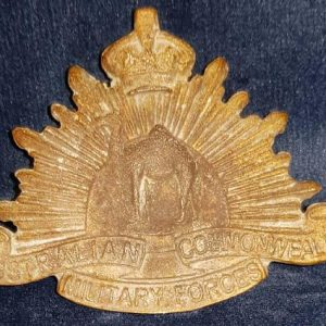 WW1 A.I.F Camel Corps Cap Badge 1.8423