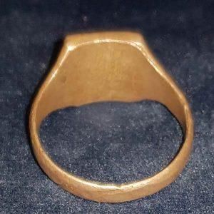 WW2 Waffen SS .800 Leibstandarte Silver Ring 2.14020