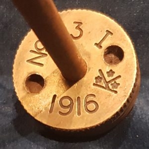 WW1 No 23 Mills Rifle Grenade Base & Rod   RG.01