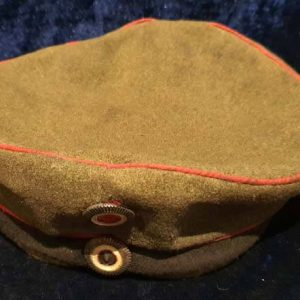 "WW1 Imperial German Field Artillery M10 Feldmutz ""Pork Pie"" Krätzchen Hat   1.8502"