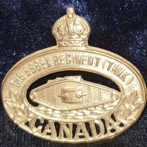 WW2 Canadian Essex Regiment (Tank) Regiment     B8453
