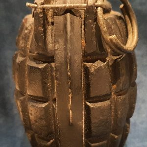 Early WW1 No 5 MK I Mills Bomb (Hand Grenade)  Cert No: 1017