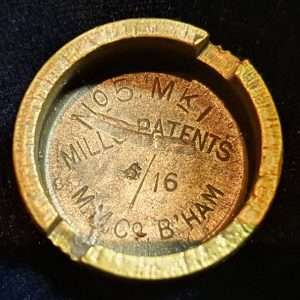 Original WW1 No 5 MK 1 Mills Bomb (Hand Grenade) Base M.M. Co 1916 IO.1011