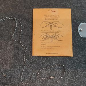 Vietnam War Style US Dog Tags Made To Order On An Original American 1965 Debossing Machine