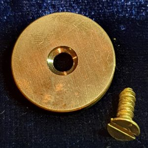 SMLE Brass Butt Disc & Screw