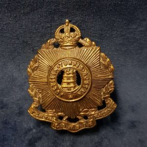 WW1 Cap Badge 10th Tenth (Hackney) County of London Regiment CB.1004