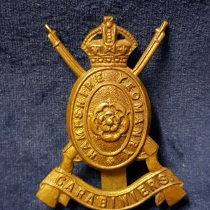 WW1 Cap Badge The Hampshire Yeomanry Carabiniers   CB.1014