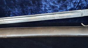 WW1 Hooked Quillion 1907 Pattern Bayonet (R 1.1805