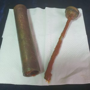 WW1 Gallipoli Relic SMLE Butt Plate & Oiler -Researched       1.8532