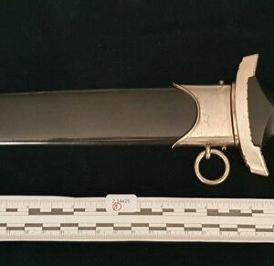 WW2 Enlisted Mans Transitional Period Waffen SS Dagger Eichorn-RZM.   2.14425