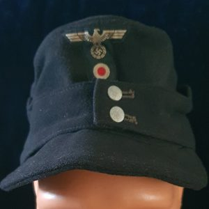 WW2 German Enlisted Mans-NCO's Panzer M43 Field Cap