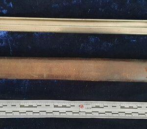 WW1 British Hooked Quillion 1907 Pattern Bayonet Dated 1909. Maker: Sanderson    1.8536