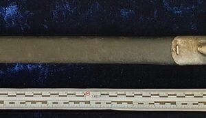 WW1 Australian Issued Hooked Quillion Mk I 1907 Pattern Bayonet Dated 1911 Maker: Enfield.   1.8537